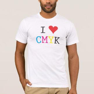 I Love CMYK T-Shirt
