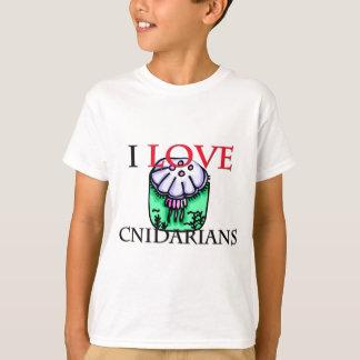 I Love Cnidarians T-Shirt
