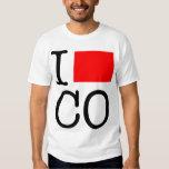 I Love CO Colorado T-Shirt