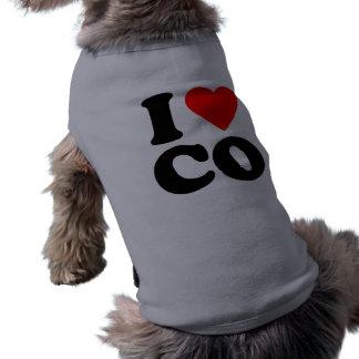 I LOVE CO DOG SHIRT