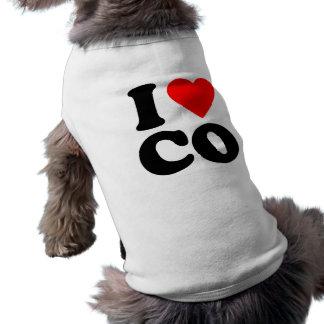 I LOVE CO PET CLOTHES