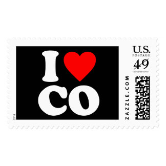 I LOVE CO STAMPS
