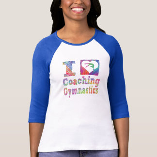 I love coaching Gymnastics Women's Shirts