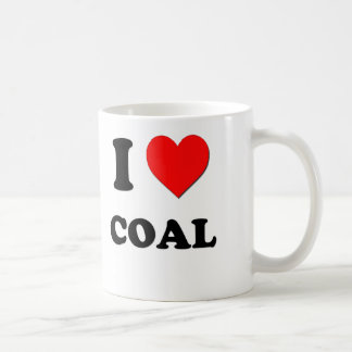 I love Coal Coffee Mug