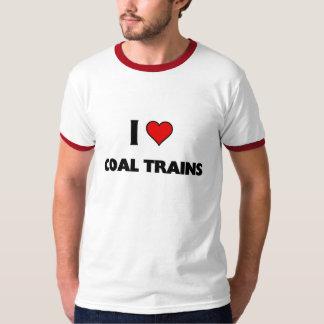 I love coal Trains T Shirt