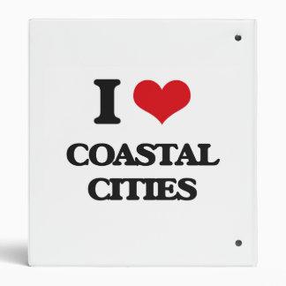 I love Coastal Cities Vinyl Binders