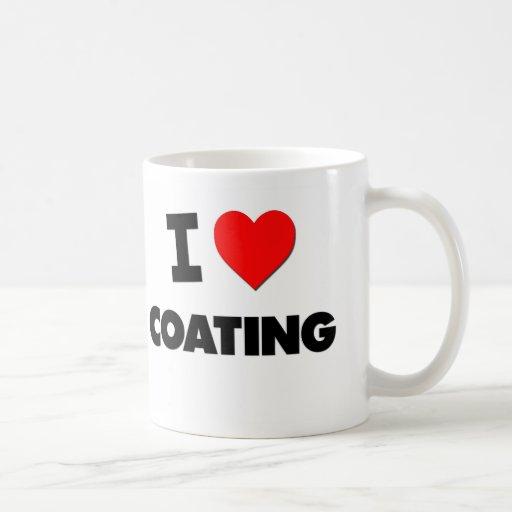 I love Coating Classic White Coffee Mug