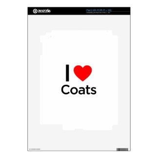 I Love Coats Skin For The iPad 2