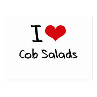 I love Cob Salads Business Card