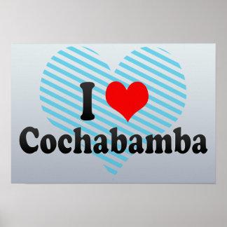 I Love Cochabamba, Bolivia Poster