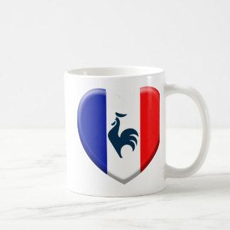 I love cock France flag Coffee Mug