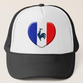 I love cock France flag Trucker Hat