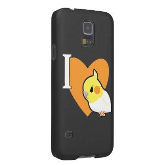 I Love Cockatiels (2) Galaxy S5 Cover