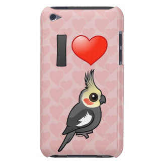 I Love Cockatiels Barely There iPod Case