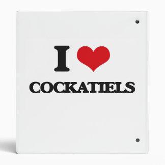 I love Cockatiels Binder