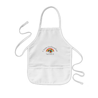 I love cockroaches deal with it kids' apron