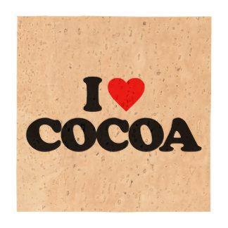 I LOVE COCOA COASTER