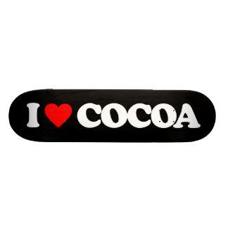 I LOVE COCOA SKATEBOARD DECK