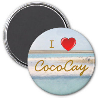I Love CocoCay Magnet