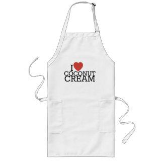 I Love Coconut Cream Apron