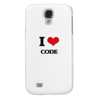 I love Code Samsung Galaxy S4 Cases