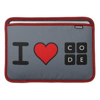 I Love Code MacBook Air Sleeve