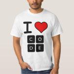 I Love Code Shirts