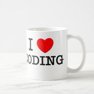 I Love Coding Coffee Mug