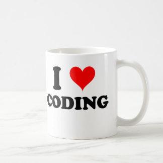 I Love Coding Coffee Mugs