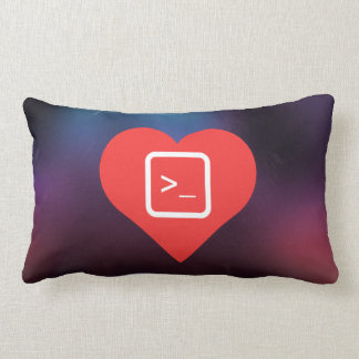 I Love Coding Throw Pillow