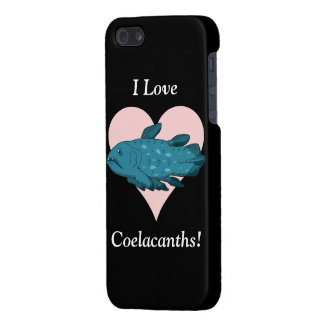 I Love Coelacanths! Case For iPhone 5/5S