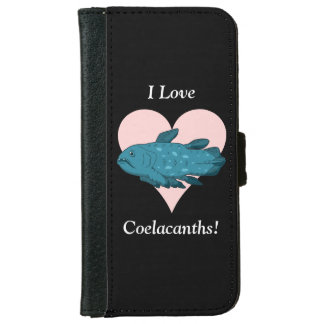 I Love Coelacanths! Wallet Phone Case For iPhone 6/6s
