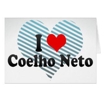 I Love Coelho Neto, Brazil Stationery Note Card