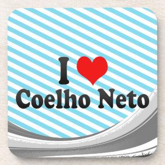 I Love Coelho Neto, Brazil Drink Coasters