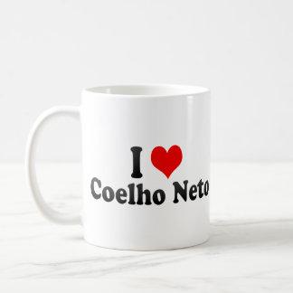 I Love Coelho Neto, Brazil Coffee Mug