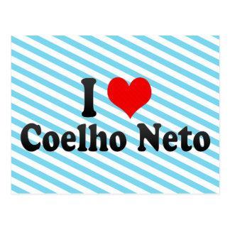 I Love Coelho Neto, Brazil Postcard