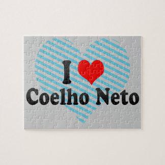 I Love Coelho Neto, Brazil Jigsaw Puzzle