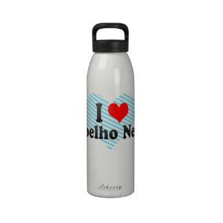 I Love Coelho Neto, Brazil Reusable Water Bottles