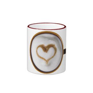 I Love Coffee 03 Ringer Coffee Mug