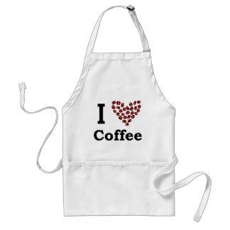 I Love Coffee Adult Apron