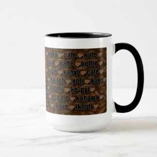 I love Coffee-Around the world 2 Mug
