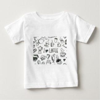 I Love Coffee Baby T-Shirt
