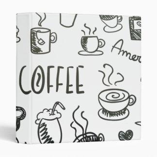 I Love Coffee Binder