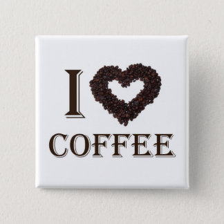 I love Coffee Button