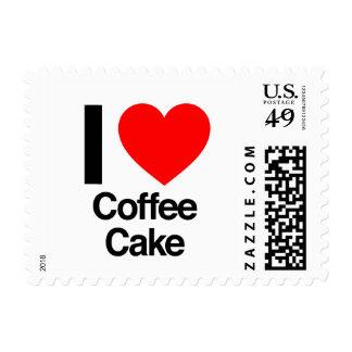 i love coffee cake postage
