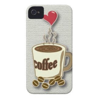 I Love Coffee iPhone 4 Case