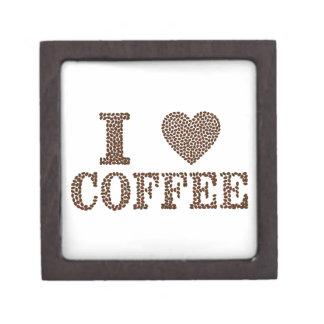 i love coffee ,coffeeholic gift box