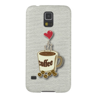 I Love Coffee Galaxy S5 Cover