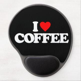 I LOVE COFFEE GEL MOUSE PADS