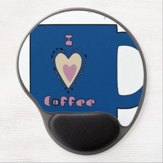I Love Coffee Gel Mousepads